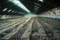 Terracotta Army(Terra-cotta Warriors or Terracotta Warriors), Xian, China