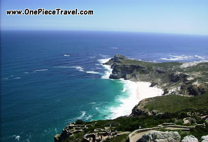 Cape of Good Hope(Cape Point) picture map, South Africa