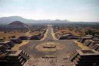 Pyramid of the Sun (the third largest pyramid in the world), Teotihuacan, Mexico