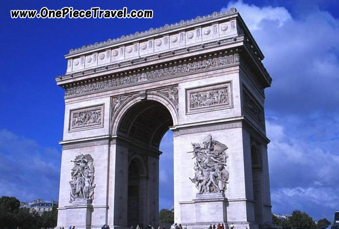Arch of Triumph(Arc de Triomphe) picture, Paris, France