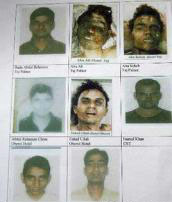Police release information of 10 Mumbai attack suspects