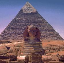 The Great Pyramids of Giza, Egypt Photo