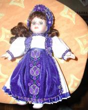 A doll dressed in Hungarian, Hungary Culture