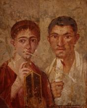 Terentius Neo and his wife, Pompeii, Italy