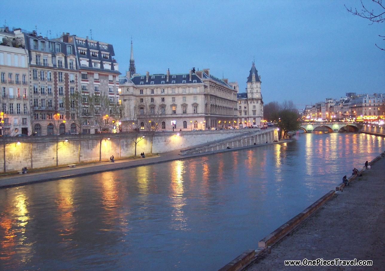 Seine river  France To...