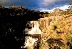 Waterfall on the Colo River, Australia
