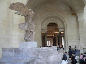 Nike(Winged Victory), Louvre, Paris, France