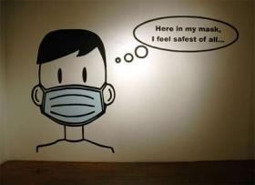 Wear a mask you can prevent swine flu?