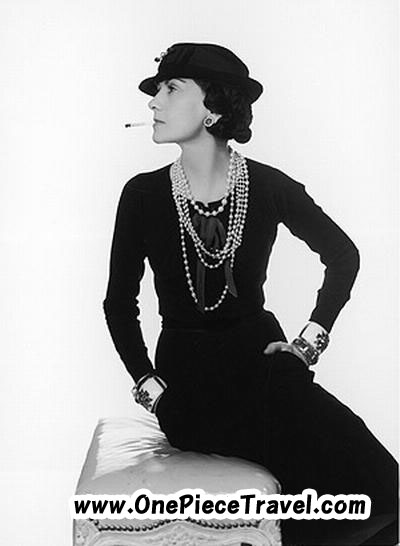 the great fashion designer Coco Chanel