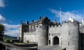 Stirling Castle, Scotland, UK
