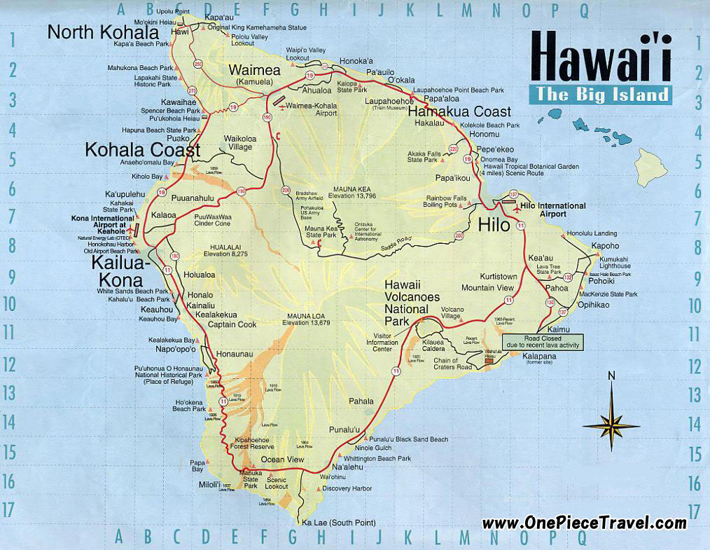 Hawaii Tourist Attractions and Travel – Tourist Attractions Map In Hawaii