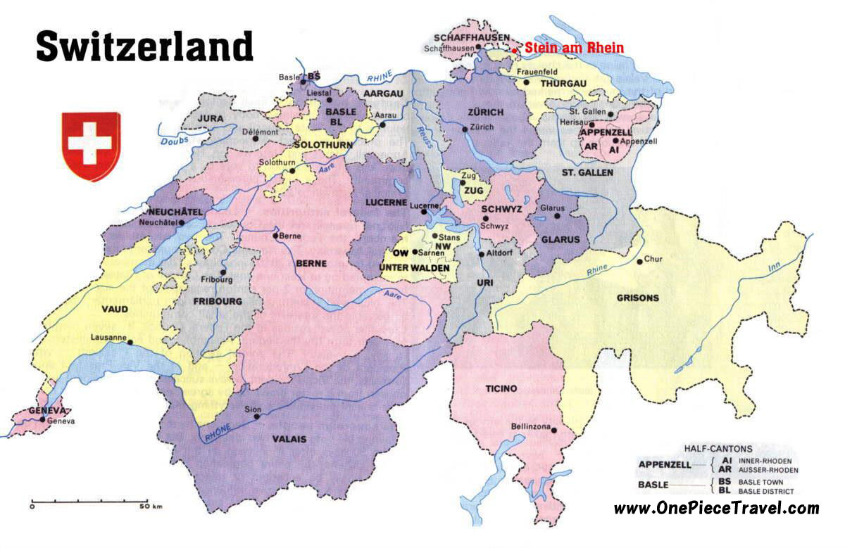 Switzerland Map Tourism – Tourist Map of Switzerland