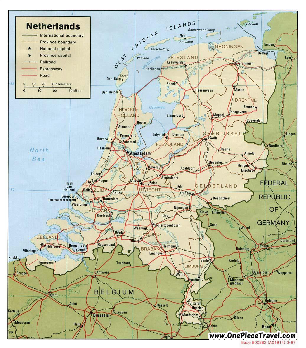 netherlands antilles map