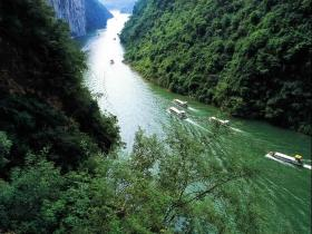 Three gorges of Yangtse river, China