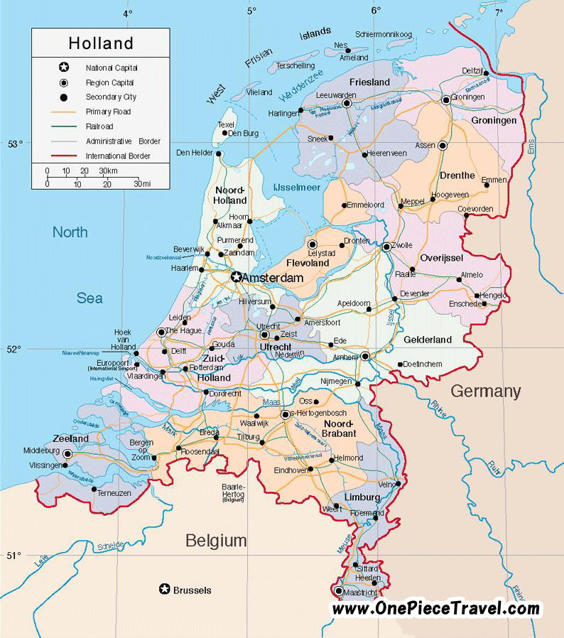 Netherlands Travel Maps | Metro Map | Bus Routes | Metrobus Way ...