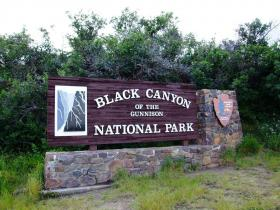 Black Canyon of the Gunnison National Park, Western Colorado, US