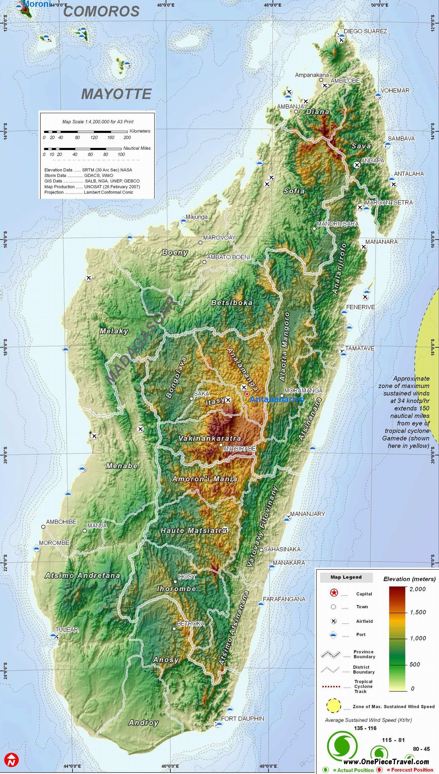 Madagascar Tourist Attractions and Travel – Madagascar Tourist Attractions Map