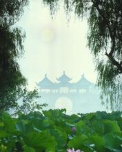 Slender West Lake, Yangzhou, China