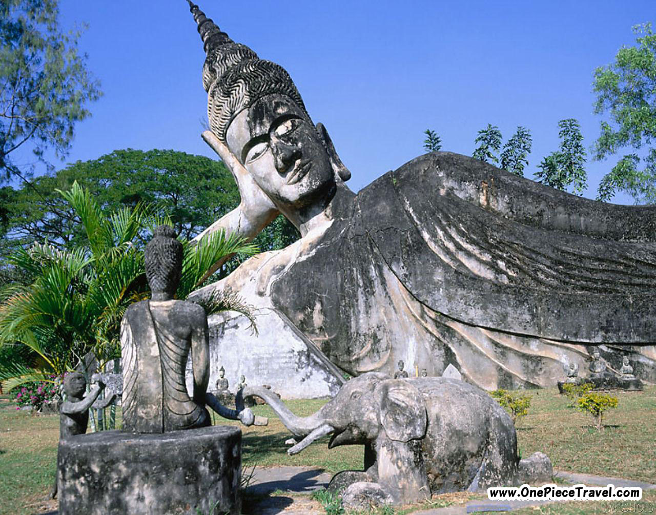 Laos Tourist Attractions and Travel – Tourist Map Laos