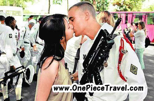 What do you think of ��Kiss me�� lady from Taiwan kissing more than 100 men in Paris?