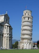 Leaning Tower of Pisa, Italian