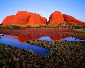 Uluru National Park(Wululu National Park), Australia
