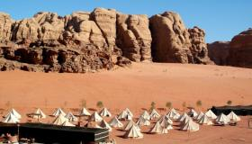 Red desert to Red Sea: Jordan from a camels back